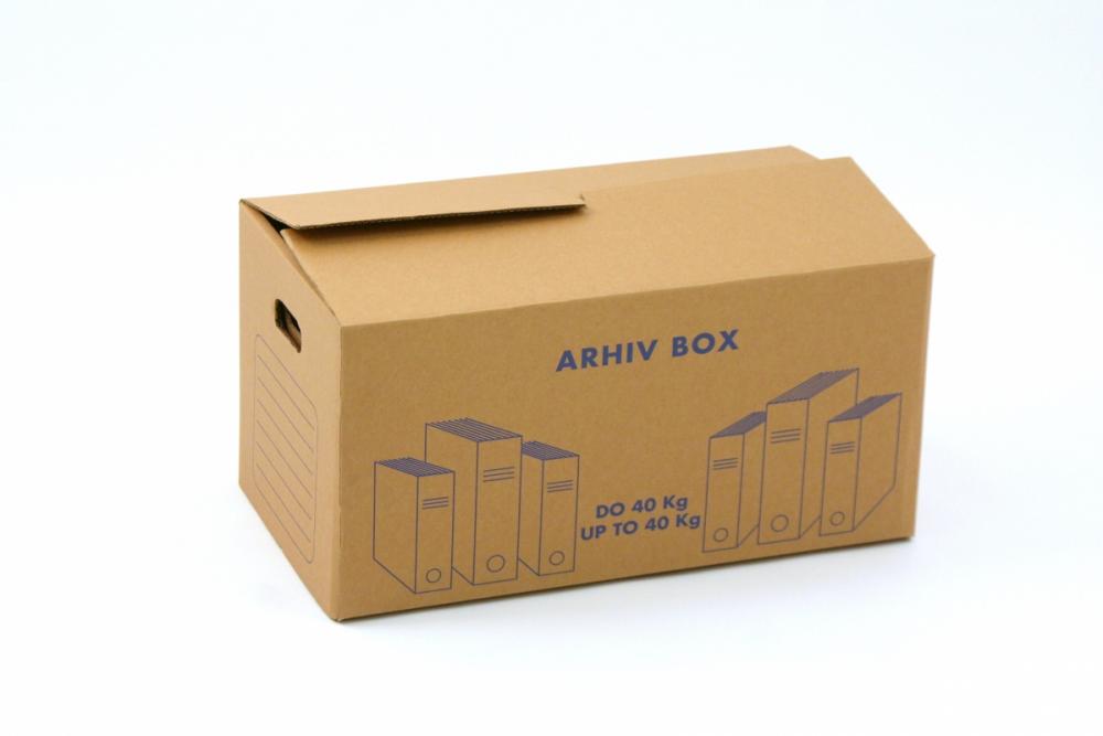 Kartonska škatla P11AB 590x330x320mm Arhiv Box