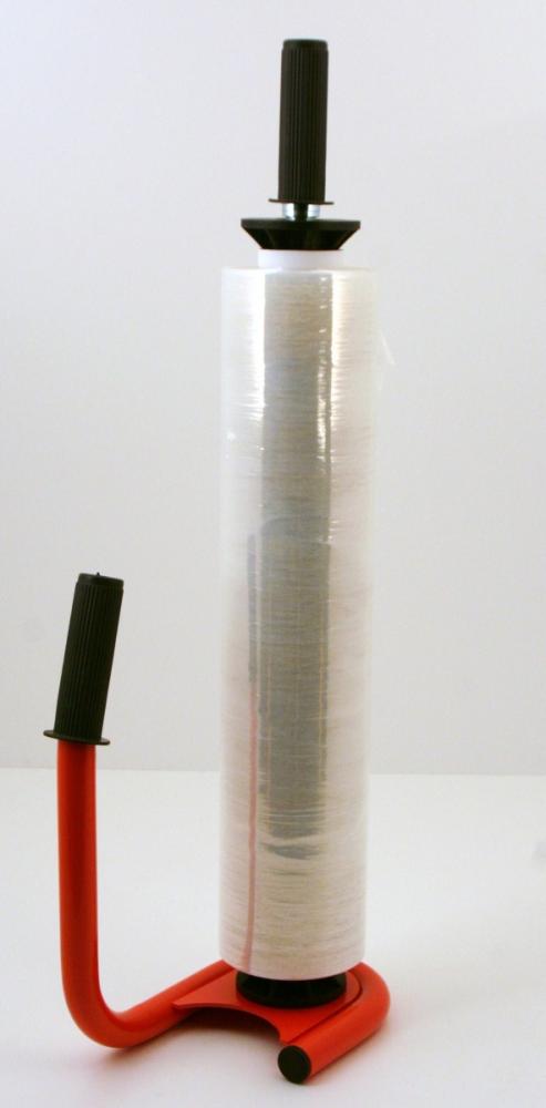 Ročaj za stretch 500mm kovinski Rdeč