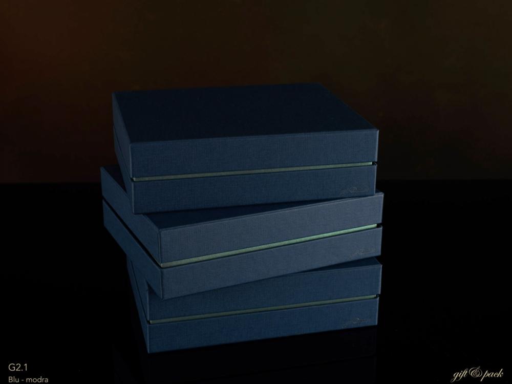 Darilna škatla G2.1 RS250X200X70mm MODRA