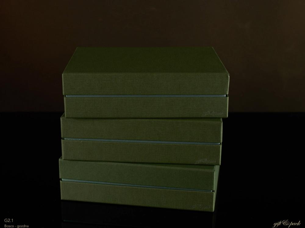 Darilna škatla G2.1 RS250X200X70mm ZELENA
