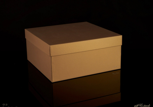Darilna škatla G1.3 R300X300X140mm PEŠČENA