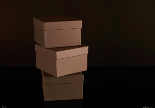 Darilna škatla G1.1 R150X150X100mm MAH - ZELENA