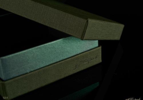 Darilna škatla G2.0 RS110X110X40mm ZELENA