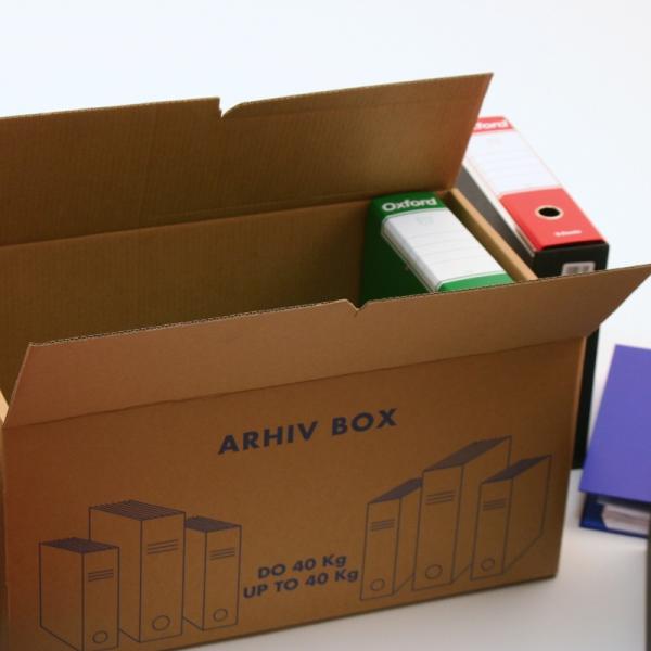 Kartonska škatla P11AB590x330x320mm Arhiv Box