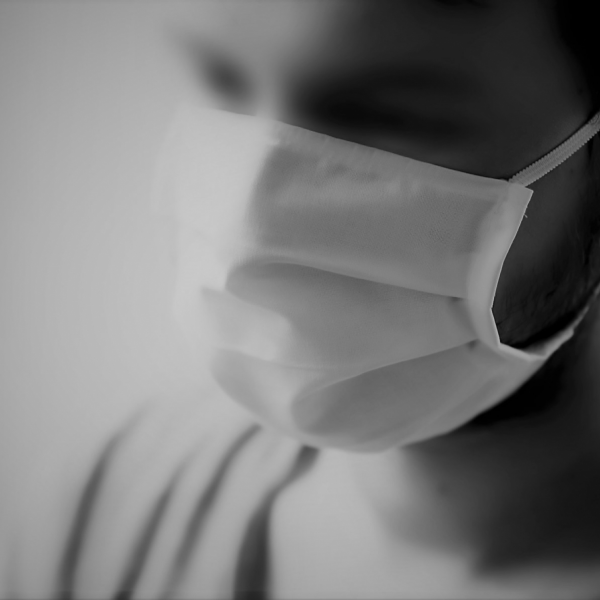 Obrazna maska bombaž M.B3