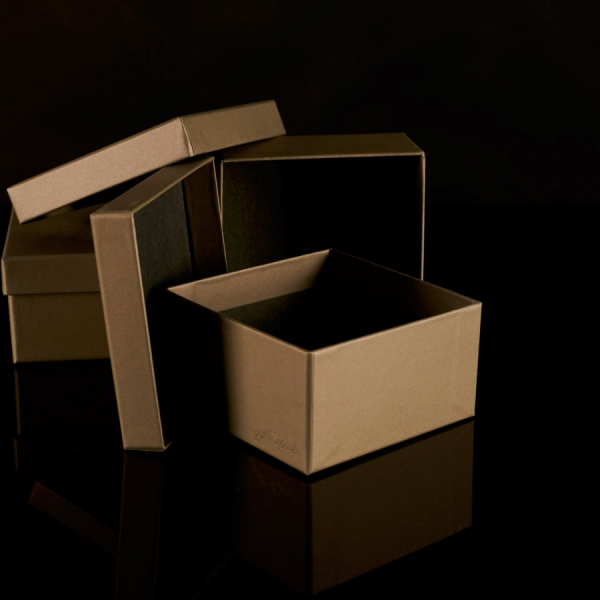 Darilna škatla G1.0 R110X110X60mm MAH - ZELENA