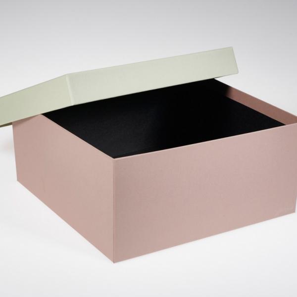 Darilna škatla G1.3 R300X300X140mm MANDELJ - KIVI