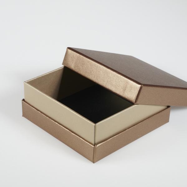 Darilna škatla G2.0 RS110X110X40mm BRONZA