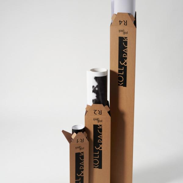 Trikotna škatla R2 540x150x150 mm fi.85