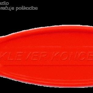 Varni nož Klever Koncept oranžni