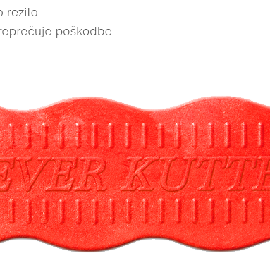 Varni nož Klever Kutter modri